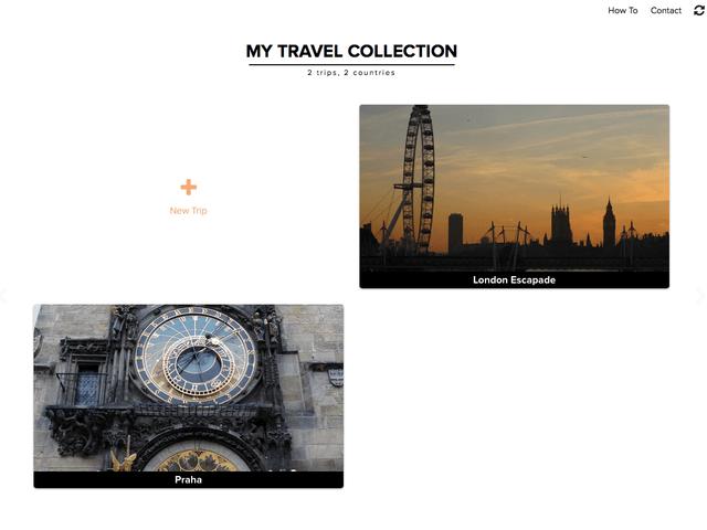 travel itinerary maker