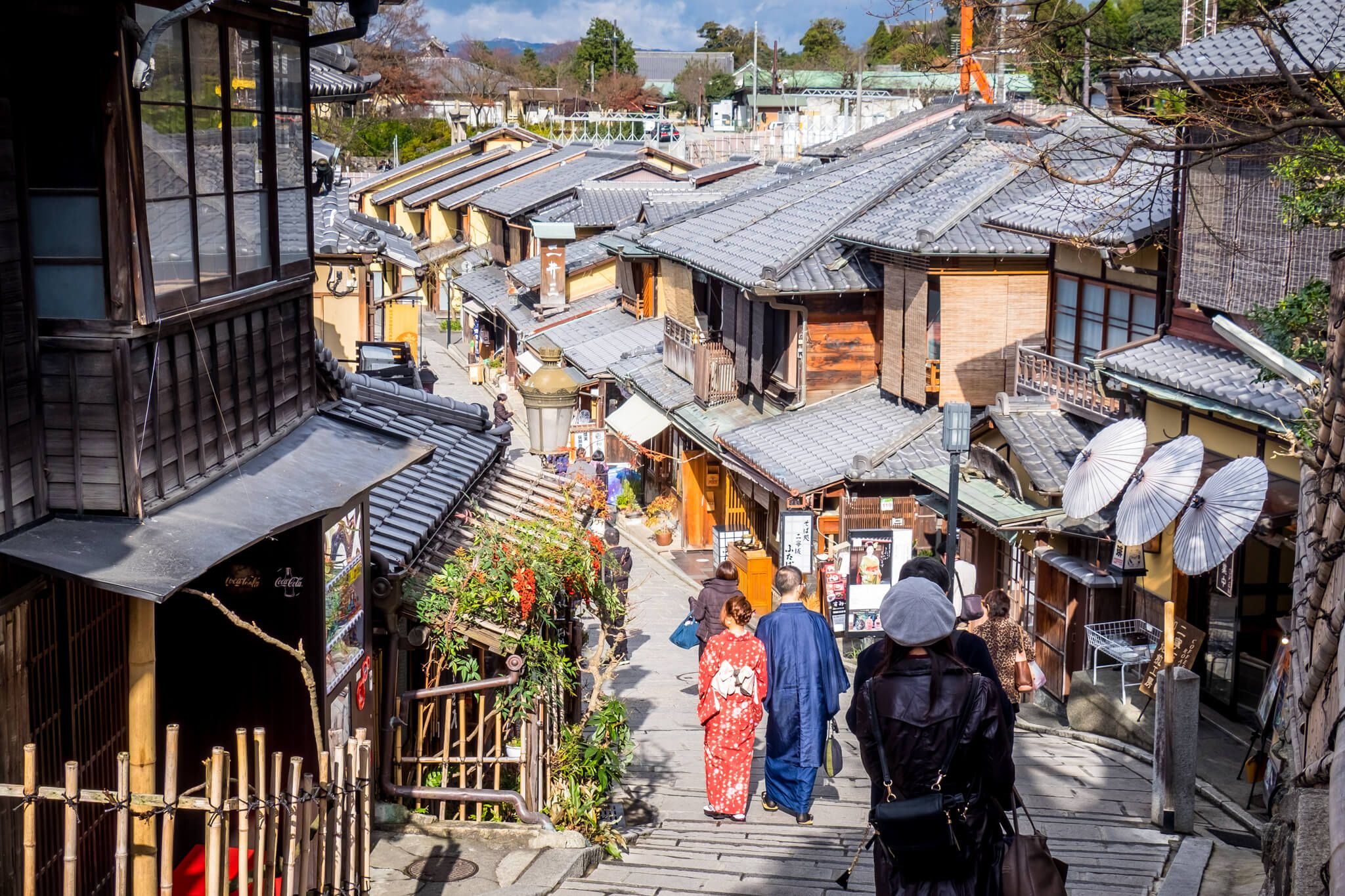Streets of Old Kyoto