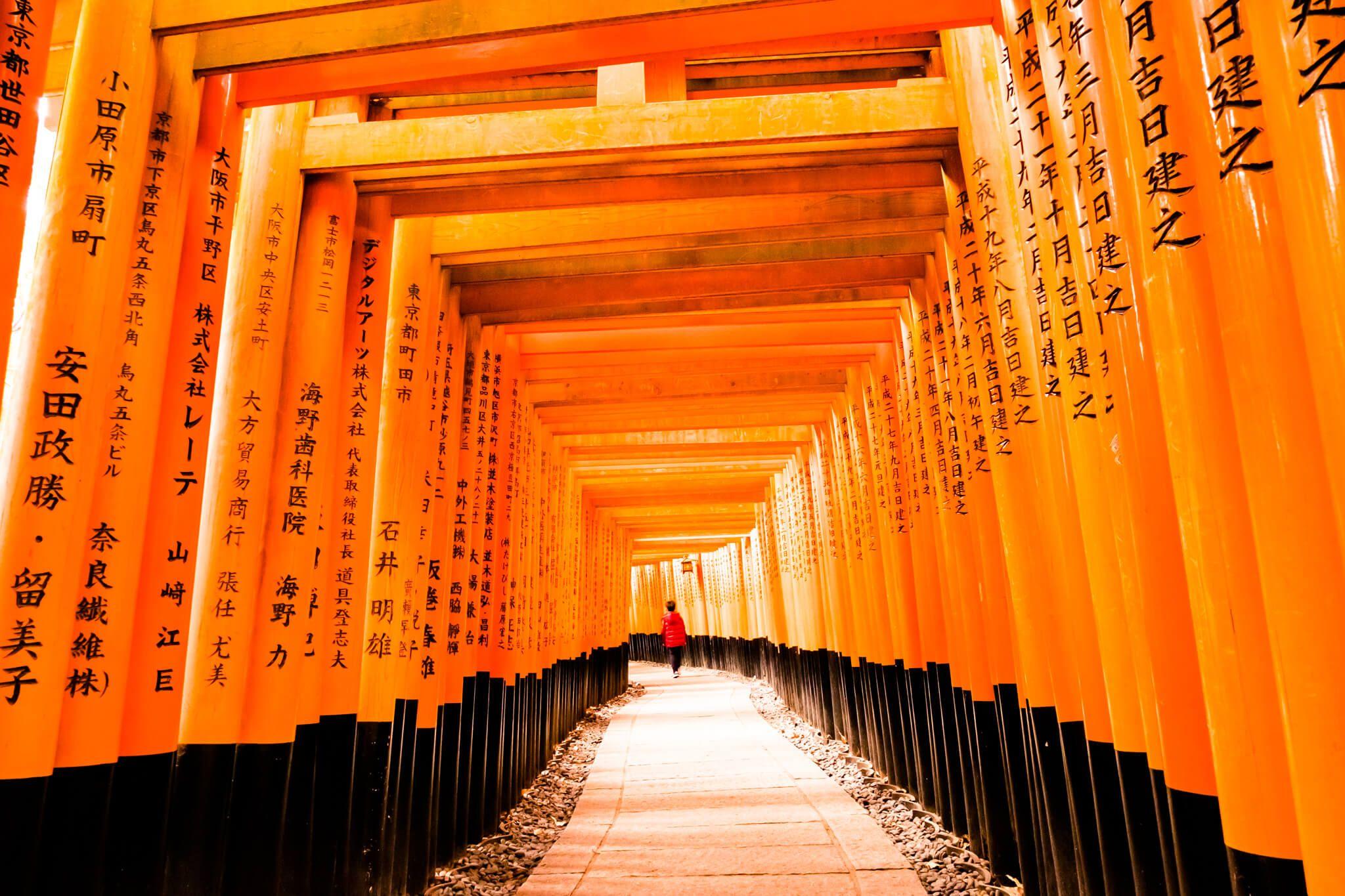 Fushimi Inari-taisha Tori Gates