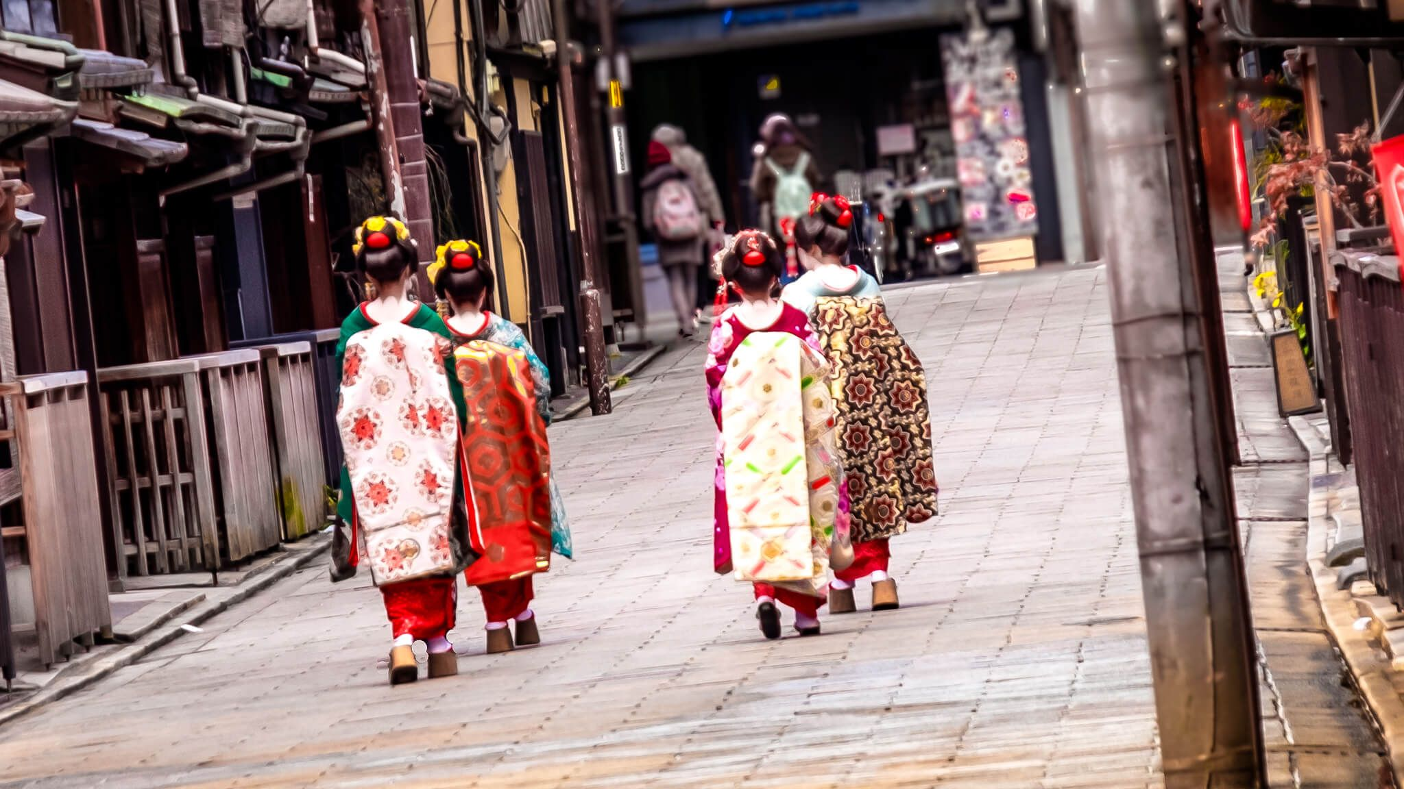 Maiko on Streets