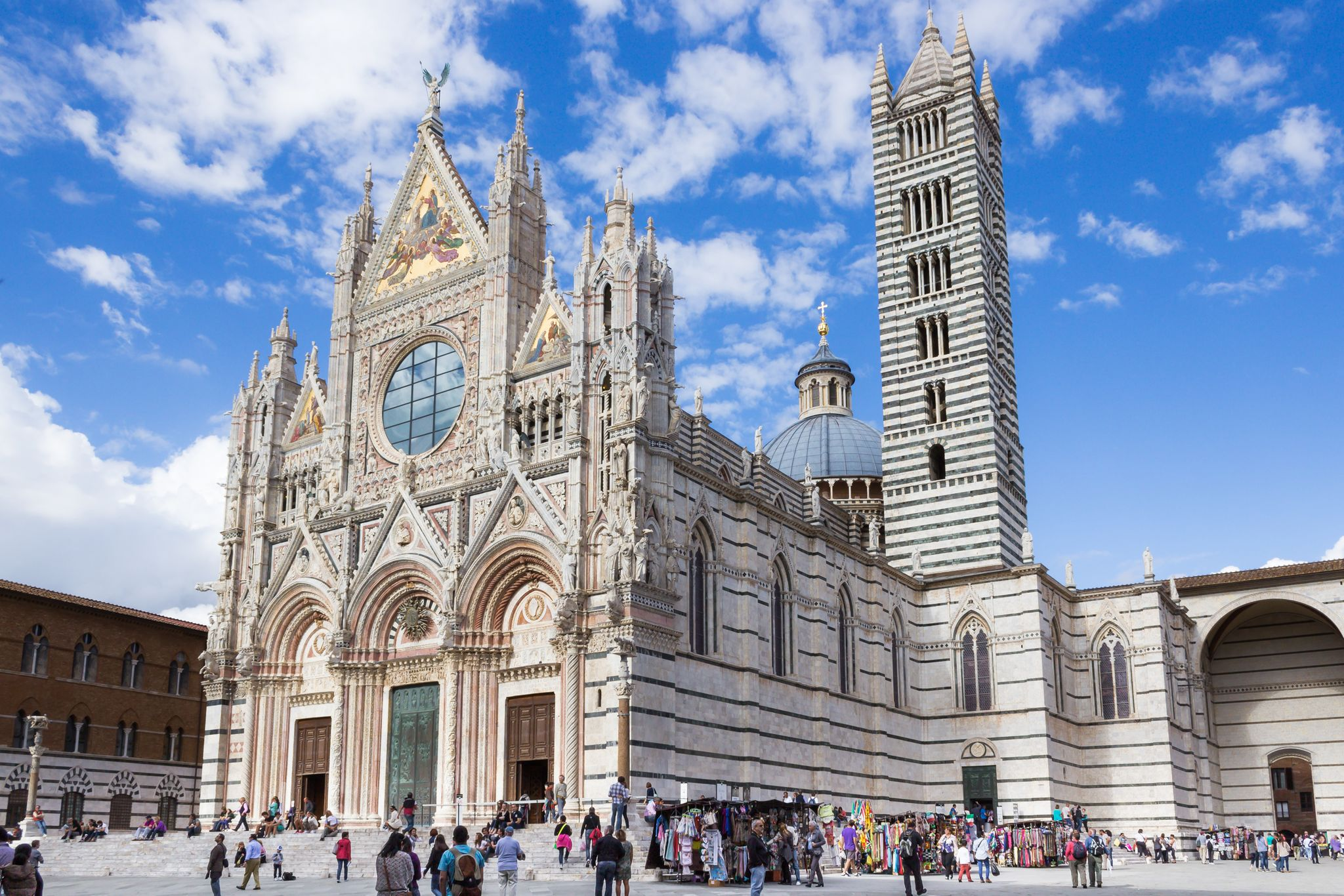 the beautiful Siena Cathedral