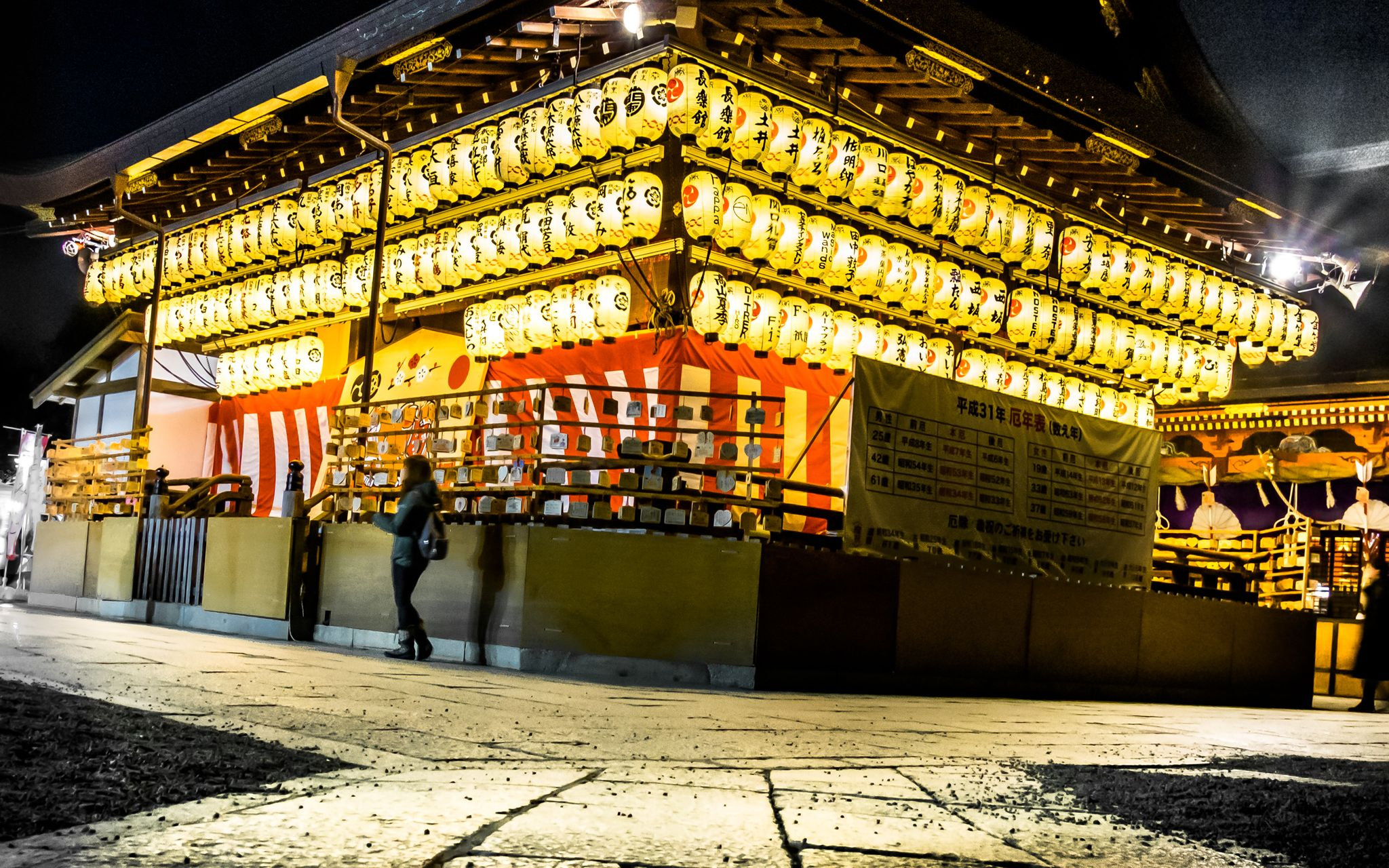 Lanterns of Yasaka Shrine