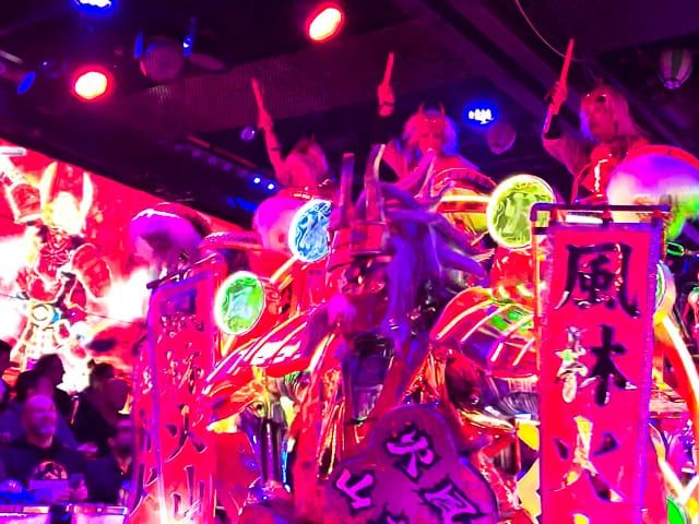 robot restaurant - taiko drums