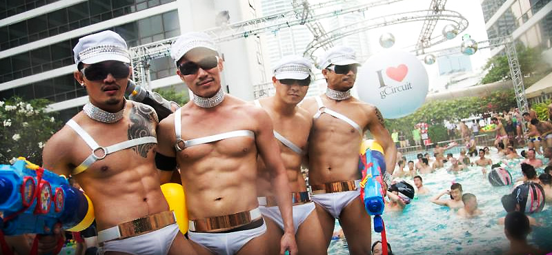 Bangkok,regarded as the gay capital of Asia. Bangkok has the largest gay population per capita thank any other city in Asia