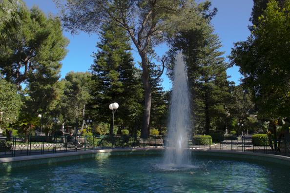 Villa Communale or cityic park in Lecce, Puglia, Italy