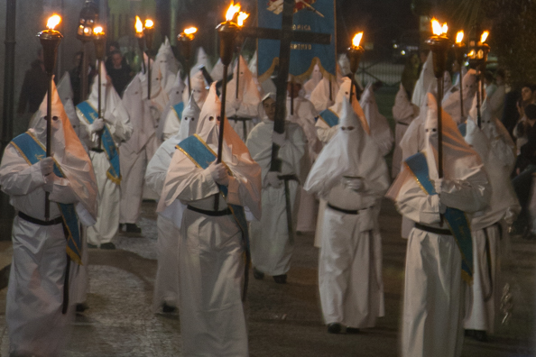 The White Parade at Easter in Sorrento, Italy