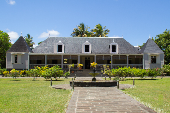 The Saint Aubin Residence on Mauritius