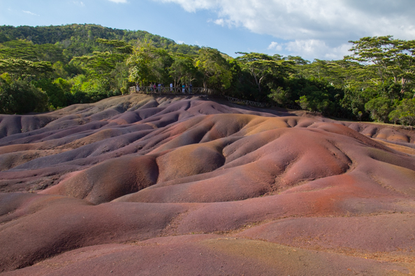 Chamarel Seven-Coloured Earth on Mauritius