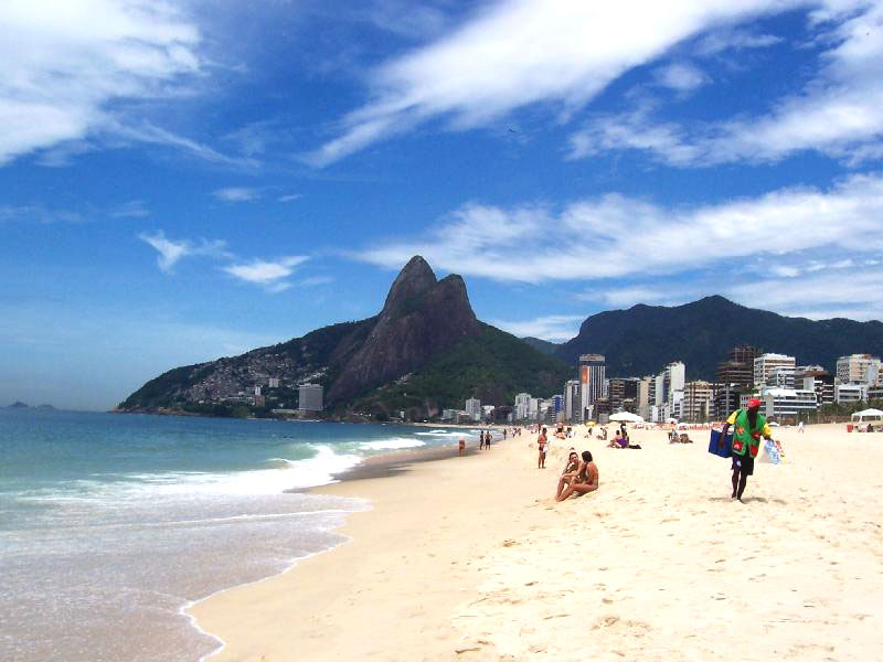ipanema beach, rio best beach
