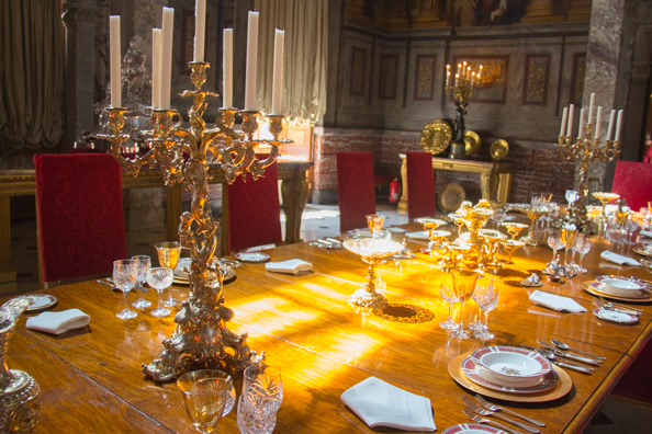 The Saloon in Blenheim Palace