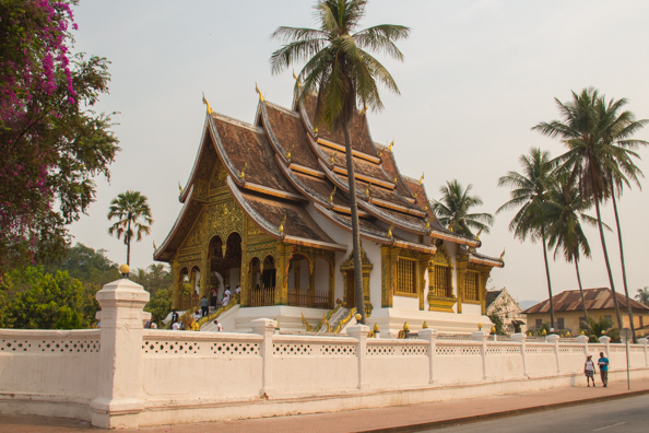 Hor Prabang in the grounds of the Royal Palace Museum in Luang Prabang