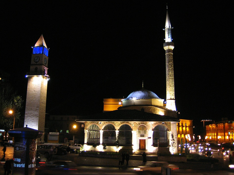 Et'hem Bey Mosque in Tirana, Albania