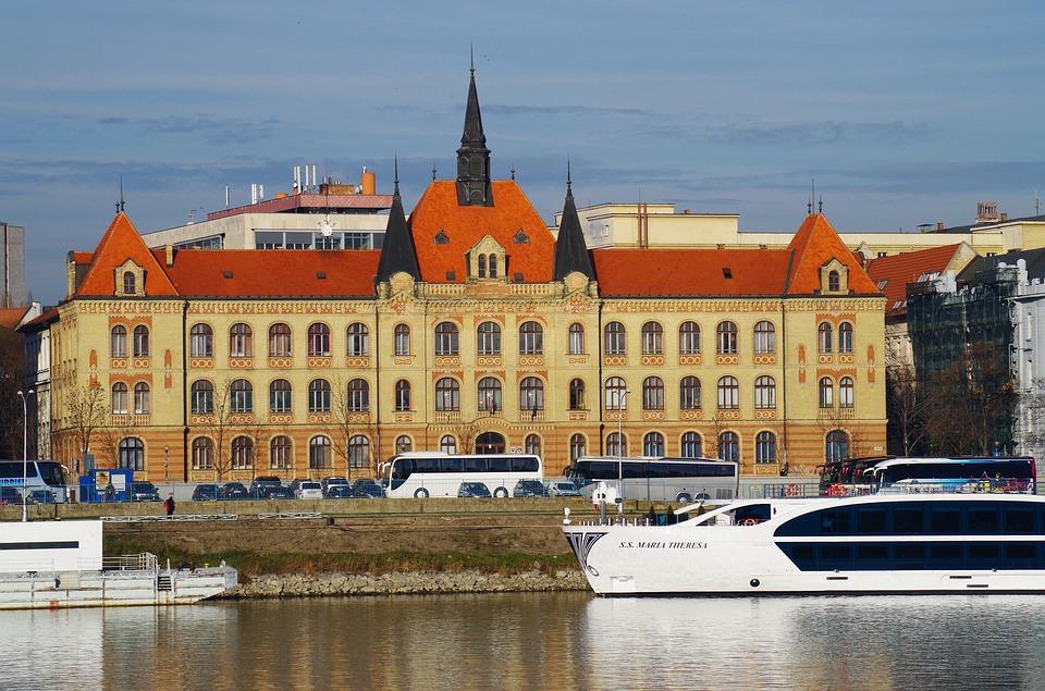 Danube River transport, Bratislava Slovakia