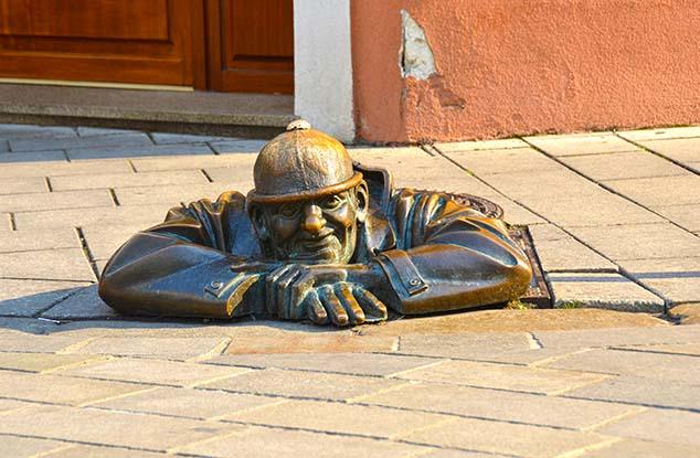 Cobblestone streets, Bratislava