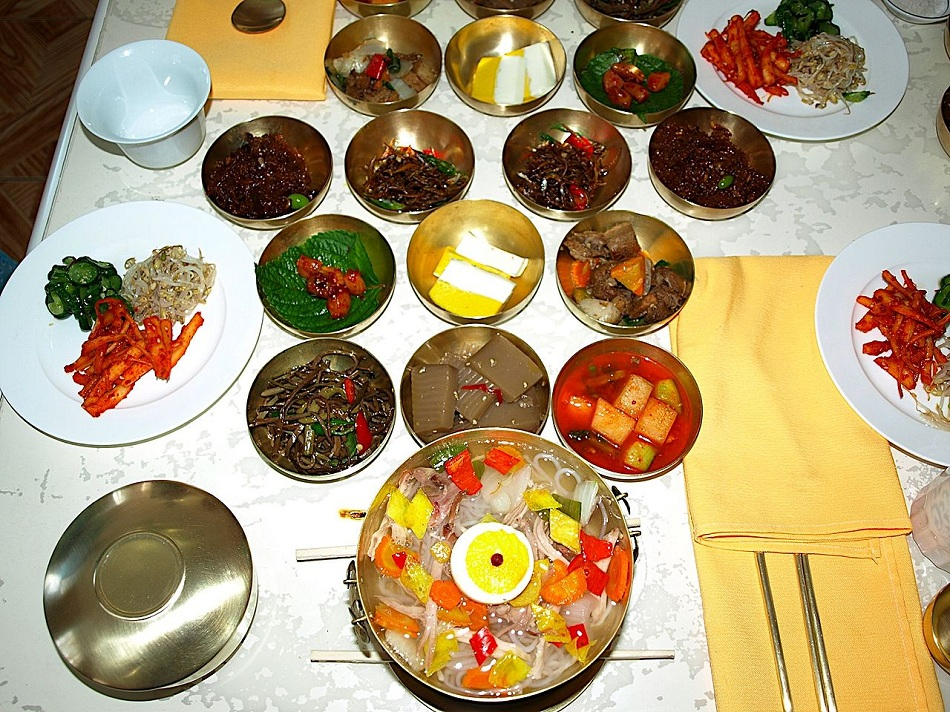 North Korea Kaesong Tongil restaurant