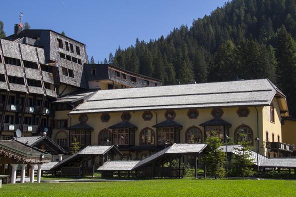 Grand Hotel Des Alpes in Madonna di Campiglio in Trentino in Italy