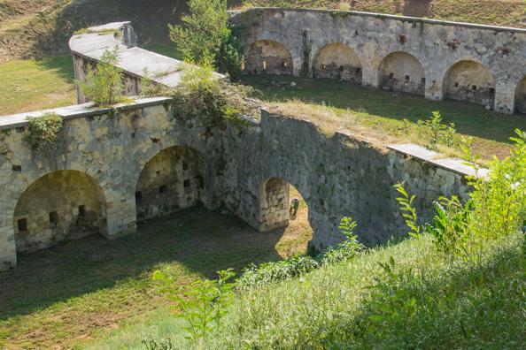 Austrian fortifications in Verona