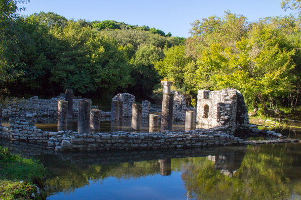 Butrint National Park in Albania