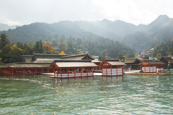 Itsukushima Shrine on Miyajima Island, Hiroshima in Japan