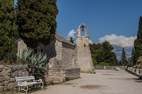 Church of Saint Nicholas the Traveller on Marjan Hill in Split, Dalmatia in Croatia