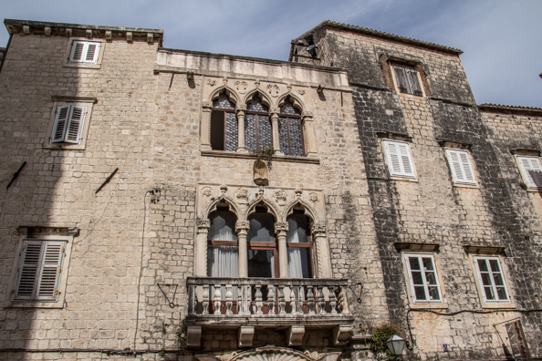 The Large Cipiko palace in Trogir, Dalmatia in Croatia