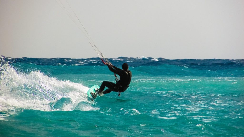 best places to kite board