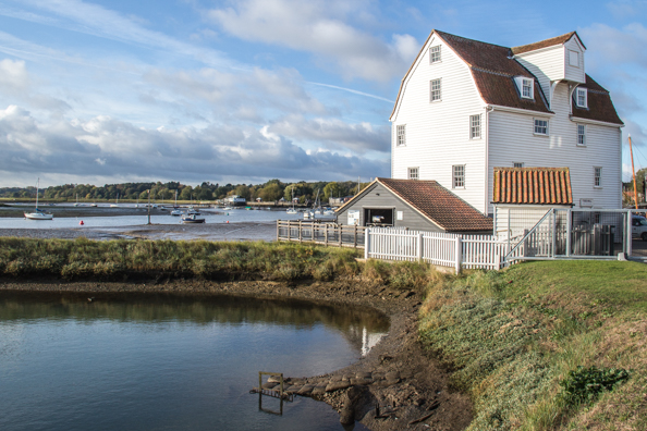 The Tide Mill at Woodbridge in Suffolk
