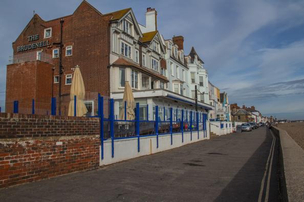 The Brudenell Hotel in Aldeburgh, Suffolk