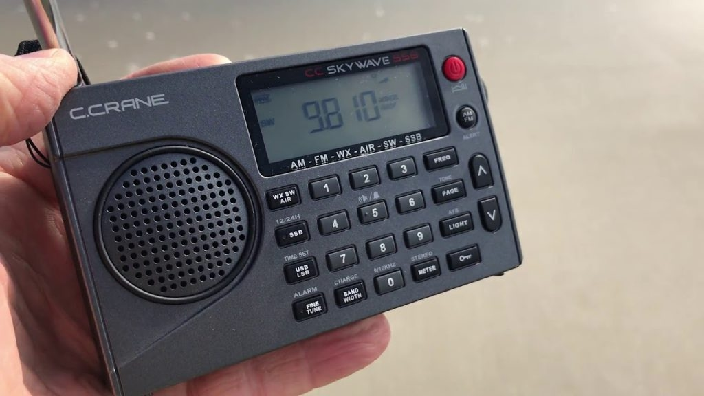 C Crane CC Skywave handheld radio