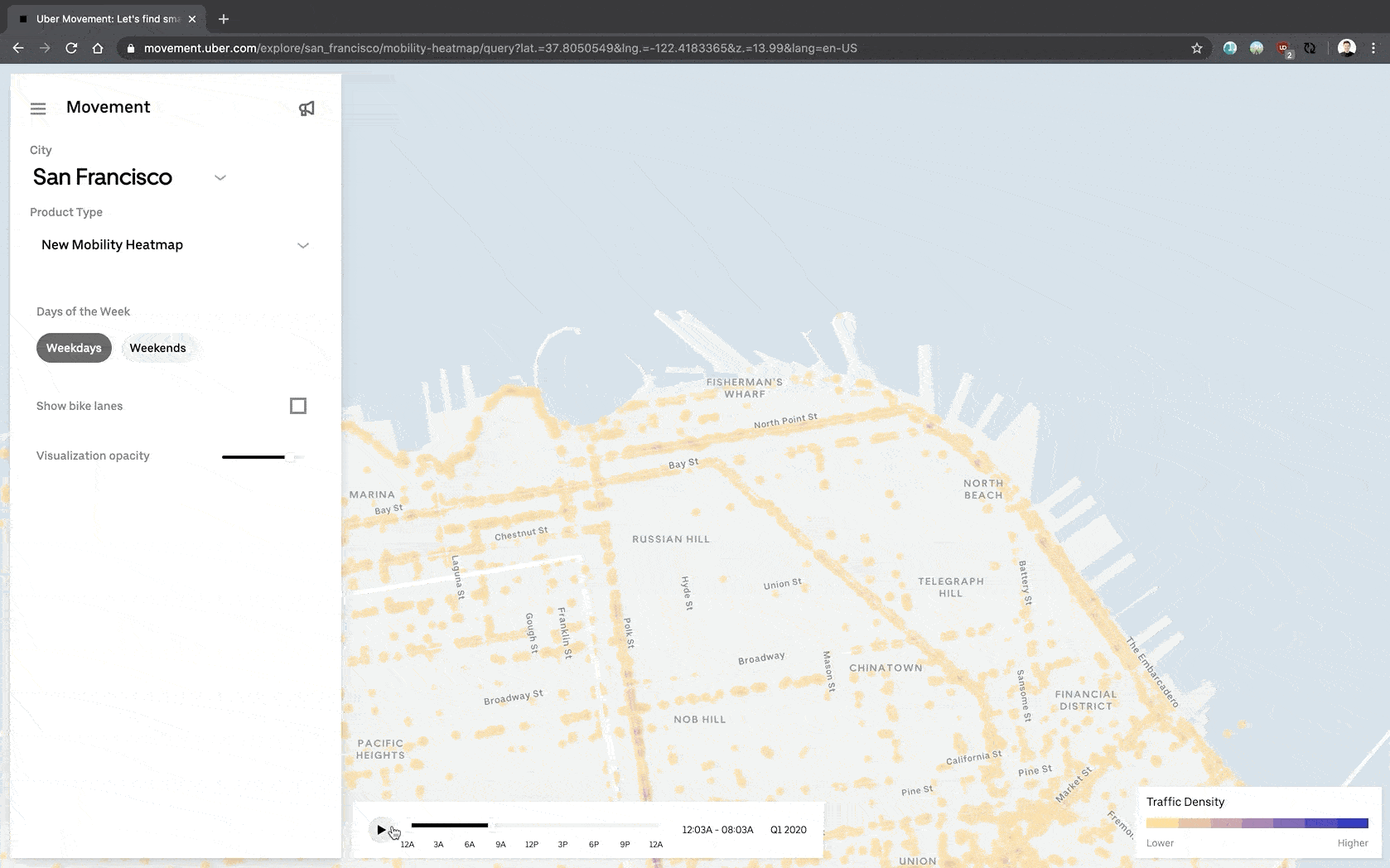 Uber's Brand New Mobility Heat Maps Onto Micro Mobilit