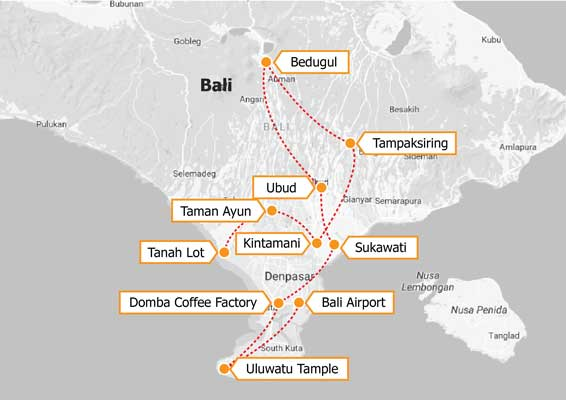 Visit amazing Bali as a part of halal tourism Indonesia package with Tripfez!