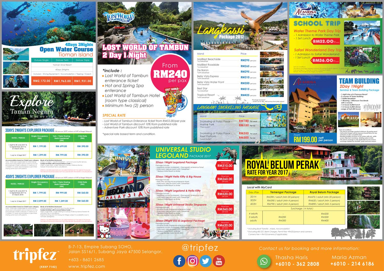 Booking halal tickets for best places to visit in Malaysia? Try Tripfez for any local Muslim holiday destinations.