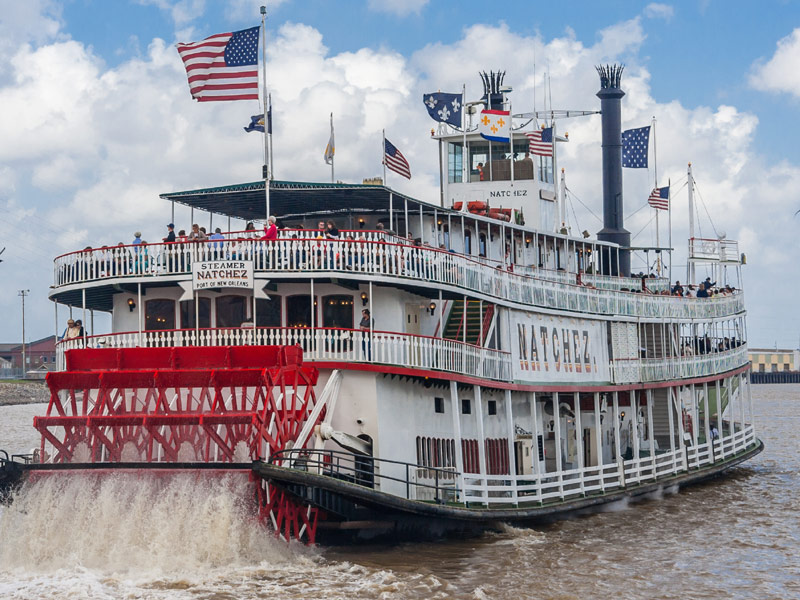 Steamboat Natchez, New Orleans