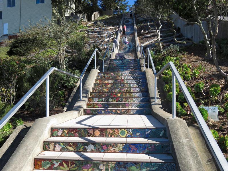 16th Avenue Mosaic Steps