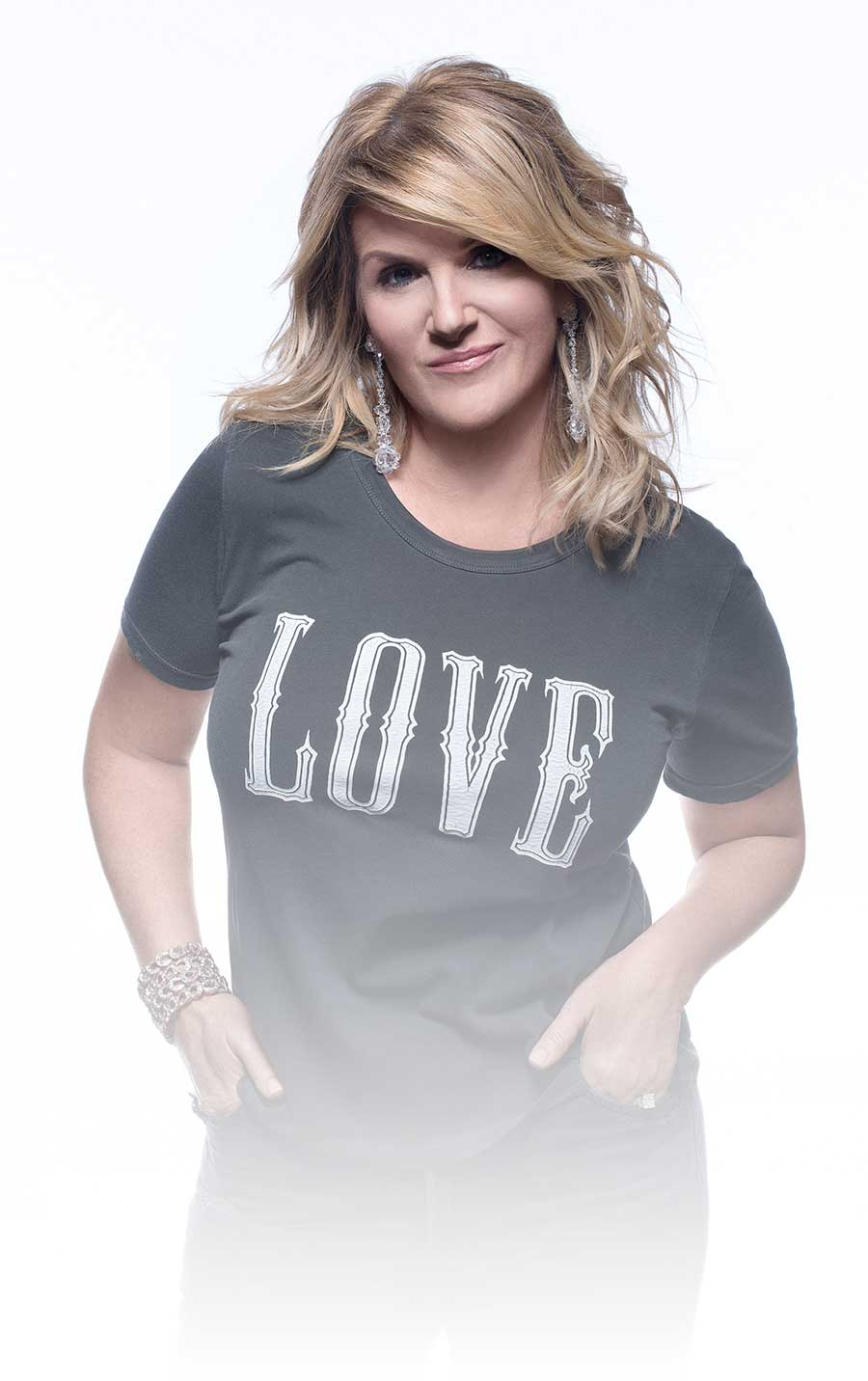 Trisha Yearwood in Love tee