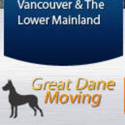 Great dane moving