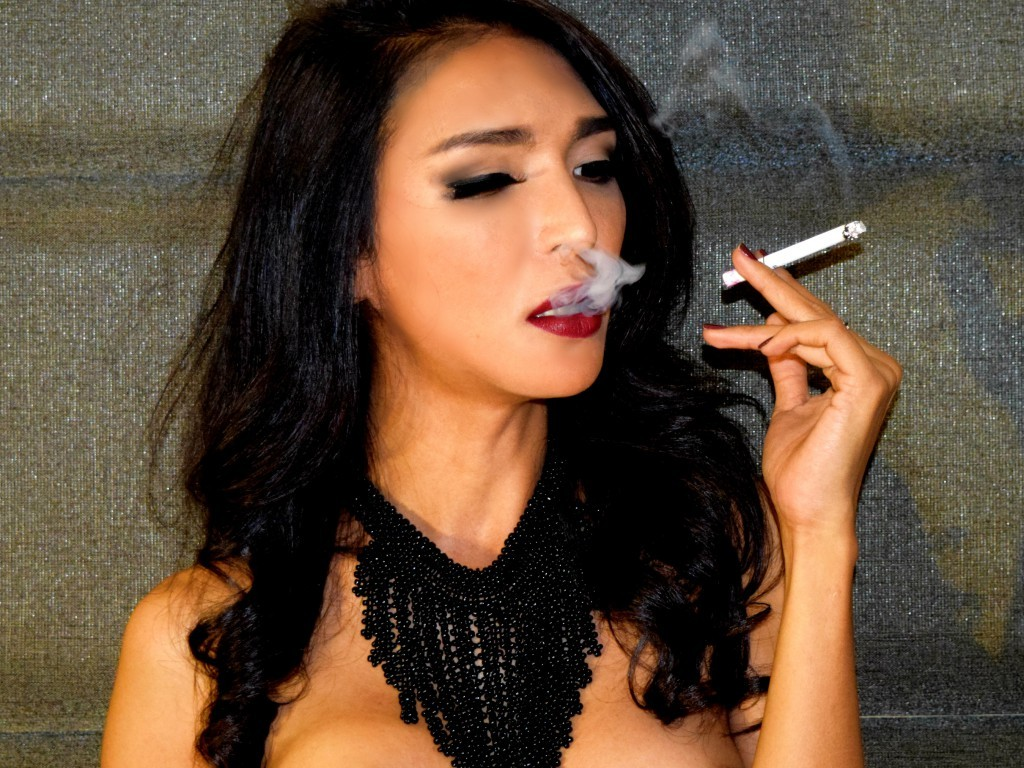 sexprofessorxx smoking cigarette on cam
