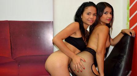 gorgeous latina lesbian cam pair CoupleGirlsNight