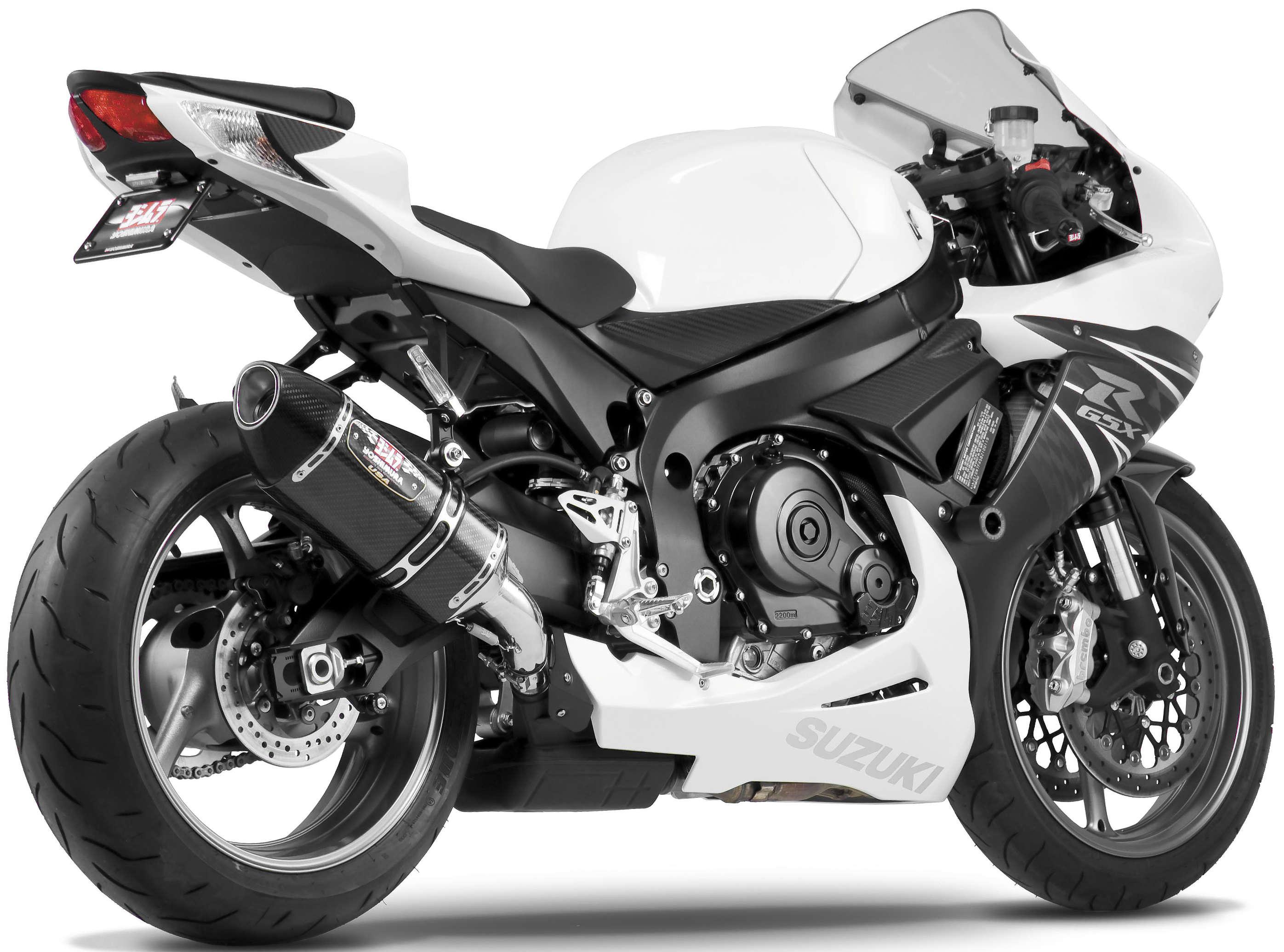 Yoshimura 1160020220 Carbon Fiber R77 Exhaust Suzuki Gsxr600 2011