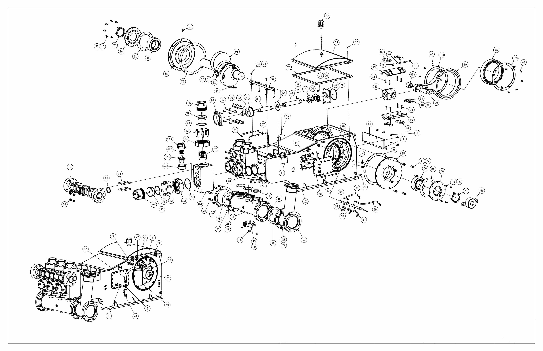 TT-680 Pump Parts View