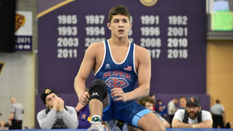 The finals are set at USA Wrestling Folkstyle Nationals