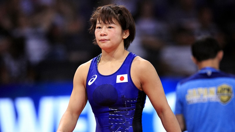 Wrestler Mayu Mukaida of Japan (Source: trackwrestling.com)