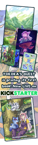 Yokoka's Quest Volume 1 on Kickstarter!