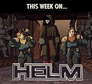 HELM, an ongoing fantasy webcomic series.