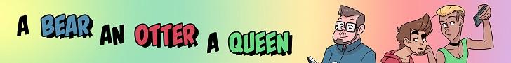 A Bear An Otter & A Queen