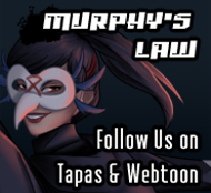 Murphy's Law | Updates Every Monday on Tapas and Webtoon | LGBTQ+