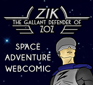 Zik, the Gallant Defender of Zoz