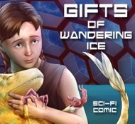 Gifts of wandering ice