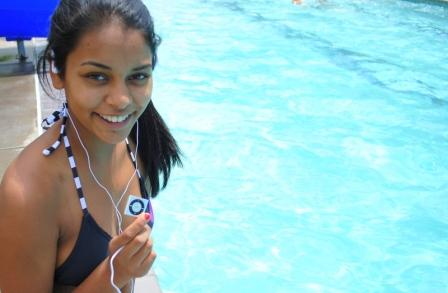 Swimbuds Waterproof Headphones Underwater Audio
