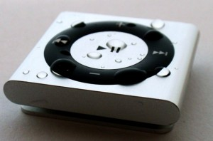 Silver iPod for Swimming